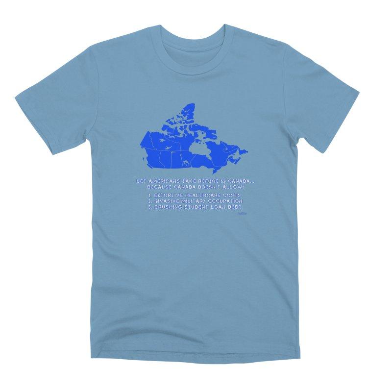 Americans Take Refuge Canada Men's Premium T-Shirt by Leading Artist Shop