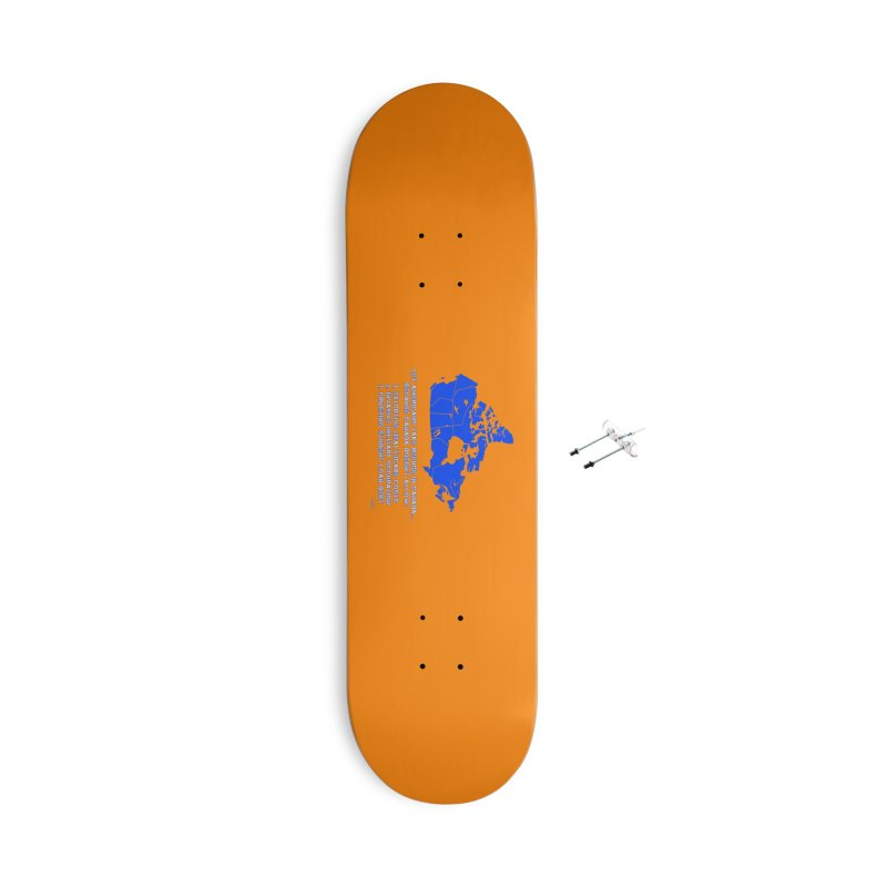 Americans Take Refuge Canada Accessories With Hanging Hardware Skateboard by Leading Artist Shop