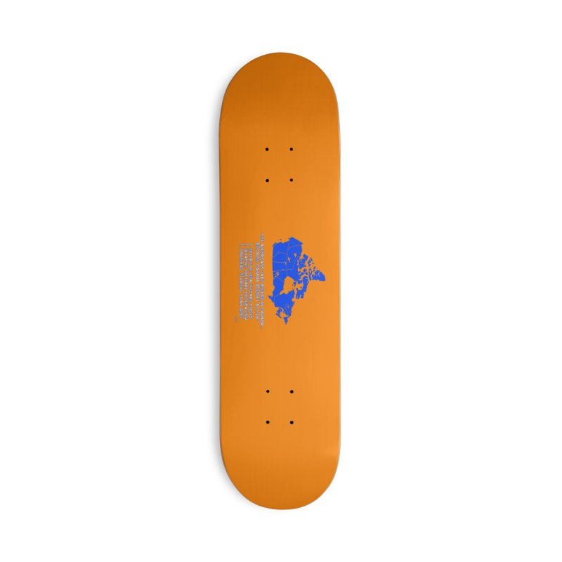 Americans Take Refuge Canada Accessories Deck Only Skateboard by Leading Artist Shop