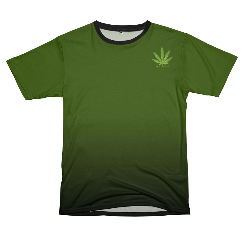Yes Please Men's T-Shirt Cut & Sew by Leading Artist Shop