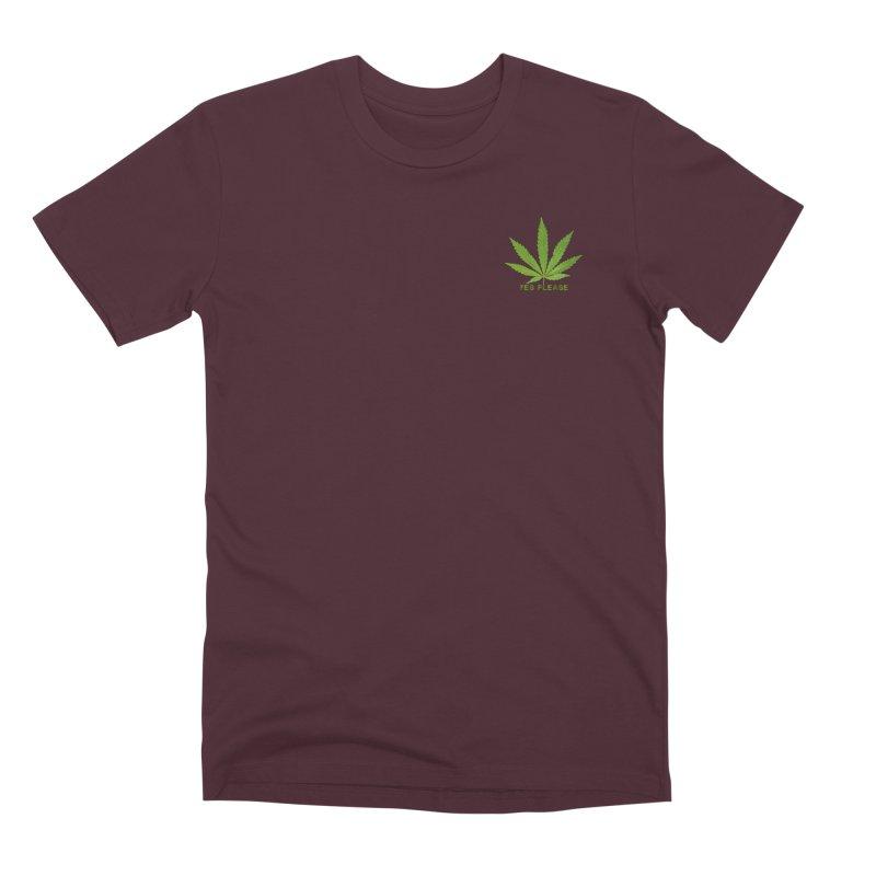 Yes Please Men's Premium T-Shirt by Leading Artist Shop
