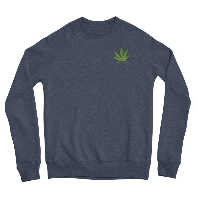 Yes Please Men's Sponge Fleece Sweatshirt by Leading Artist Shop