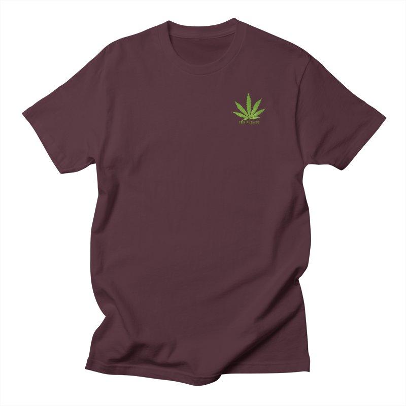 Yes Please Women's Regular Unisex T-Shirt by Leading Artist Shop
