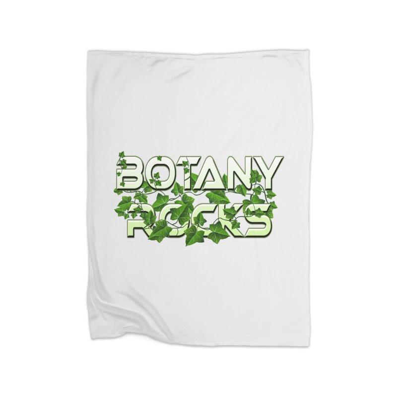 Botany Rocks Home Fleece Blanket Blanket by Leading Artist Shop