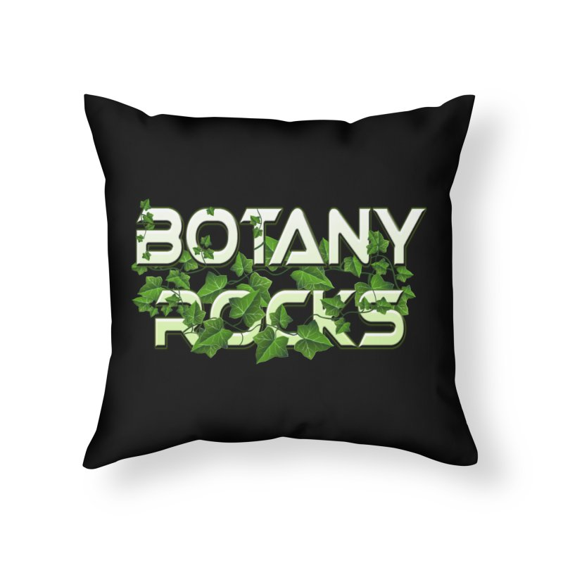 Botany Rocks Home Throw Pillow by Leading Artist Shop