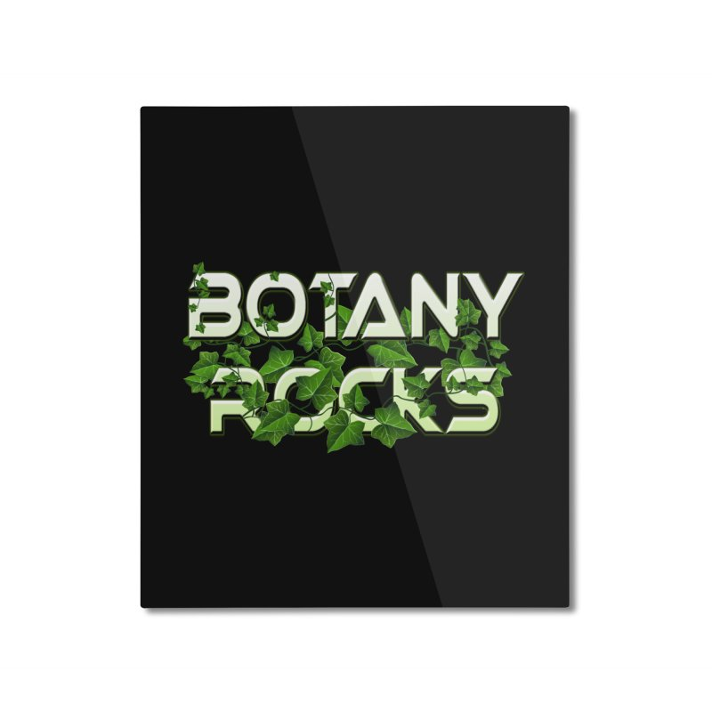 Botany Rocks Home Mounted Aluminum Print by Leading Artist Shop