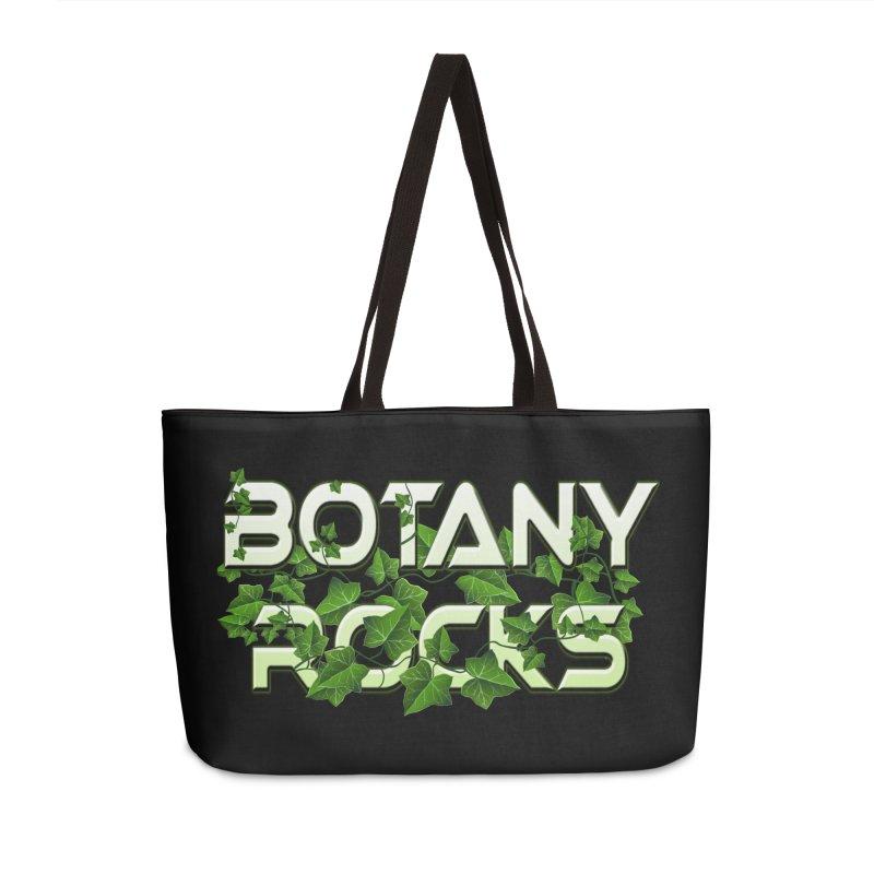 Botany Rocks Accessories Weekender Bag Bag by Leading Artist Shop