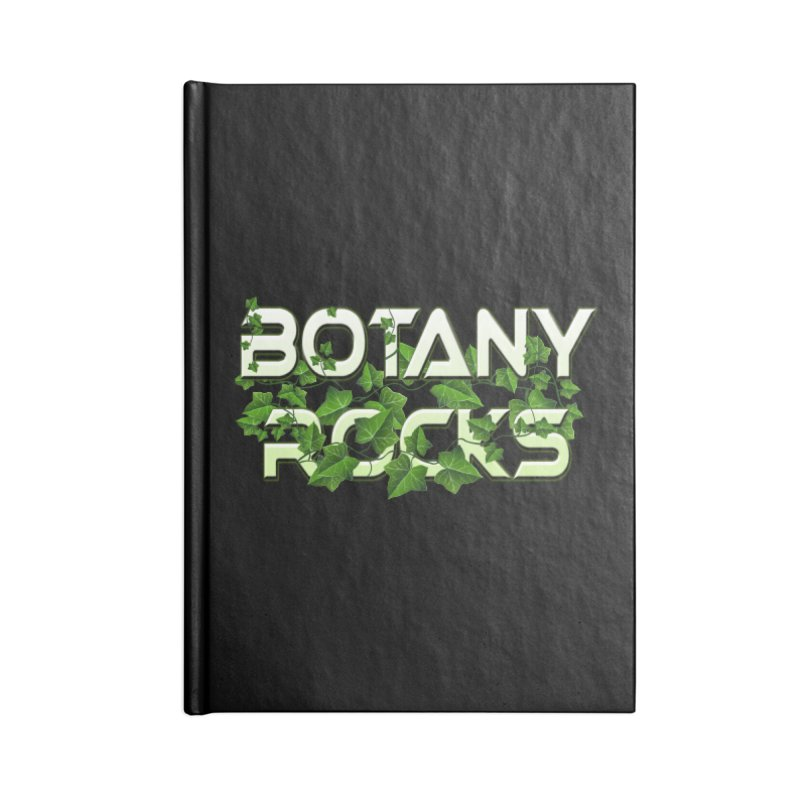 Botany Rocks Accessories Lined Journal Notebook by Leading Artist Shop