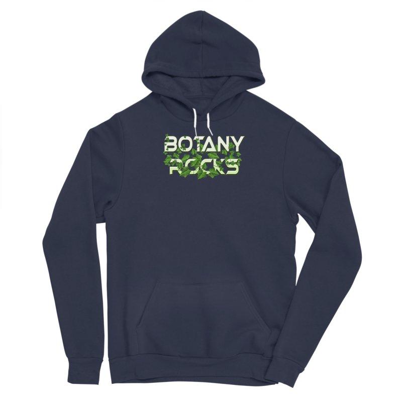 Botany Rocks Men's Sponge Fleece Pullover Hoody by Leading Artist Shop