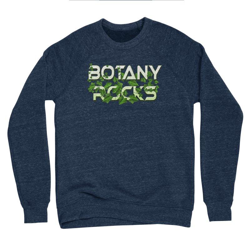 Botany Rocks Men's Sponge Fleece Sweatshirt by Leading Artist Shop