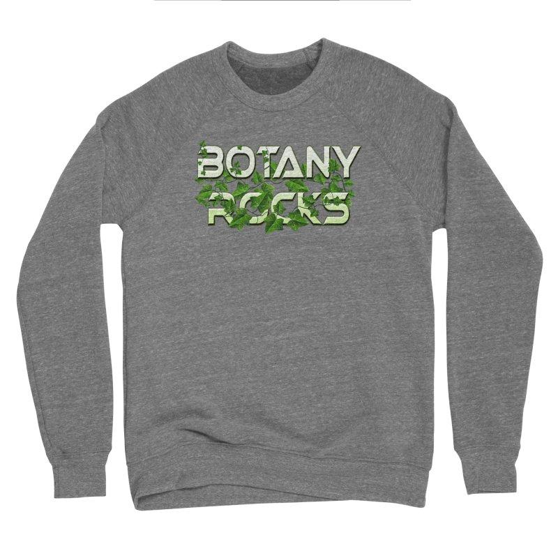 Botany Rocks Women's Sponge Fleece Sweatshirt by Leading Artist Shop