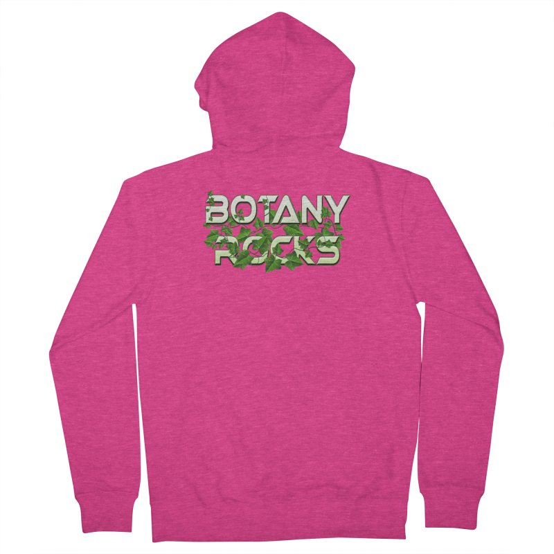 Botany Rocks Women's French Terry Zip-Up Hoody by Leading Artist Shop
