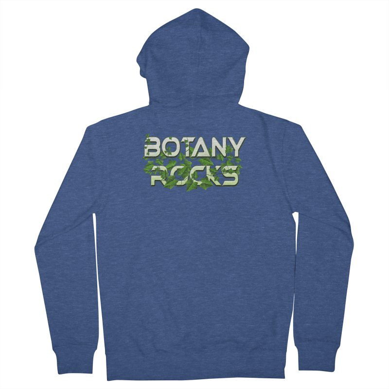Botany Rocks Men's French Terry Zip-Up Hoody by Leading Artist Shop
