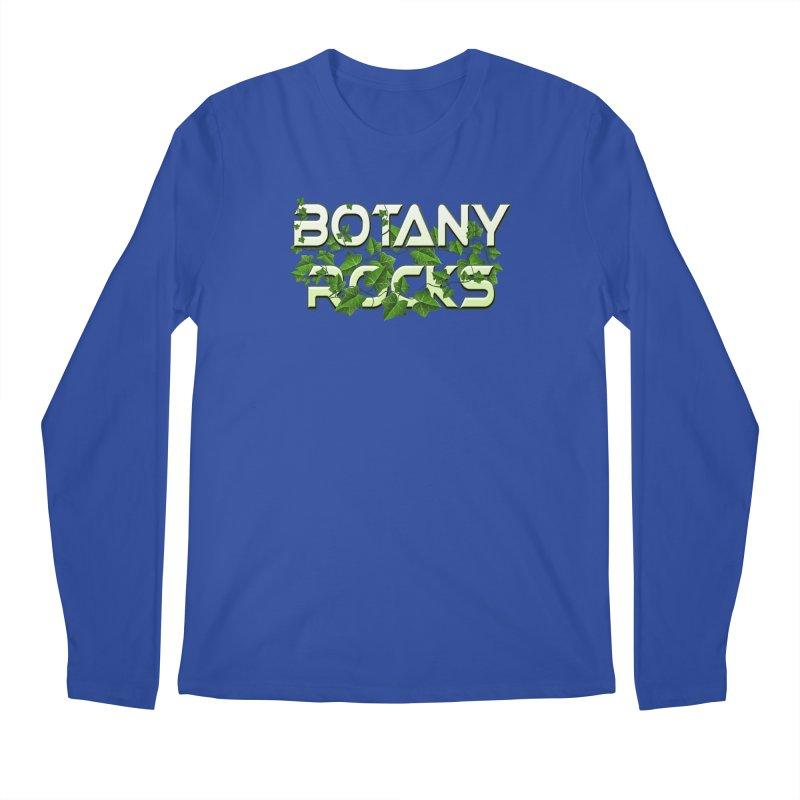 Botany Rocks Men's Regular Longsleeve T-Shirt by Leading Artist Shop