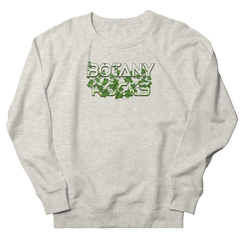 Botany Rocks Women's French Terry Sweatshirt by Leading Artist Shop