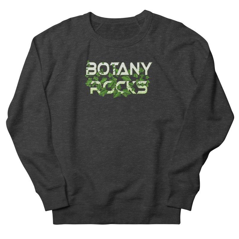 Botany Rocks Men's French Terry Sweatshirt by Leading Artist Shop