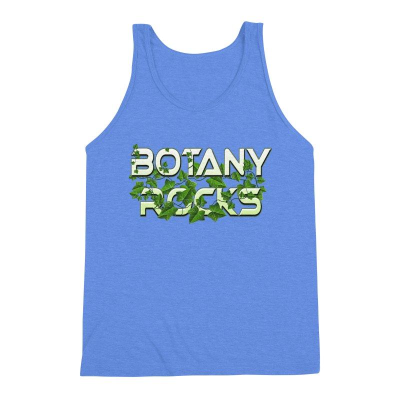 Botany Rocks Men's Triblend Tank by Leading Artist Shop