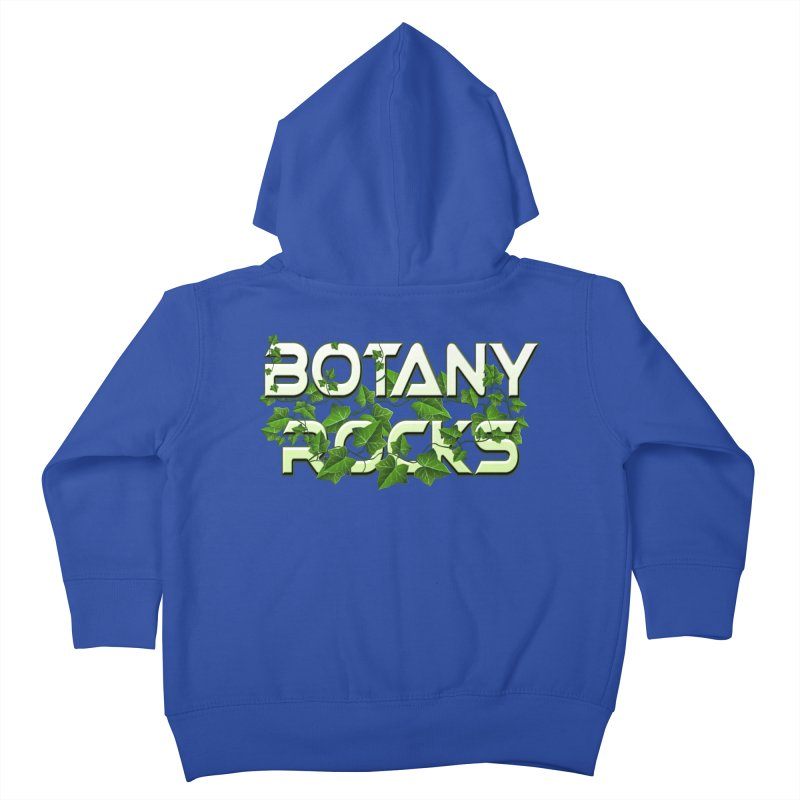 Botany Rocks Kids Toddler Zip-Up Hoody by Leading Artist Shop