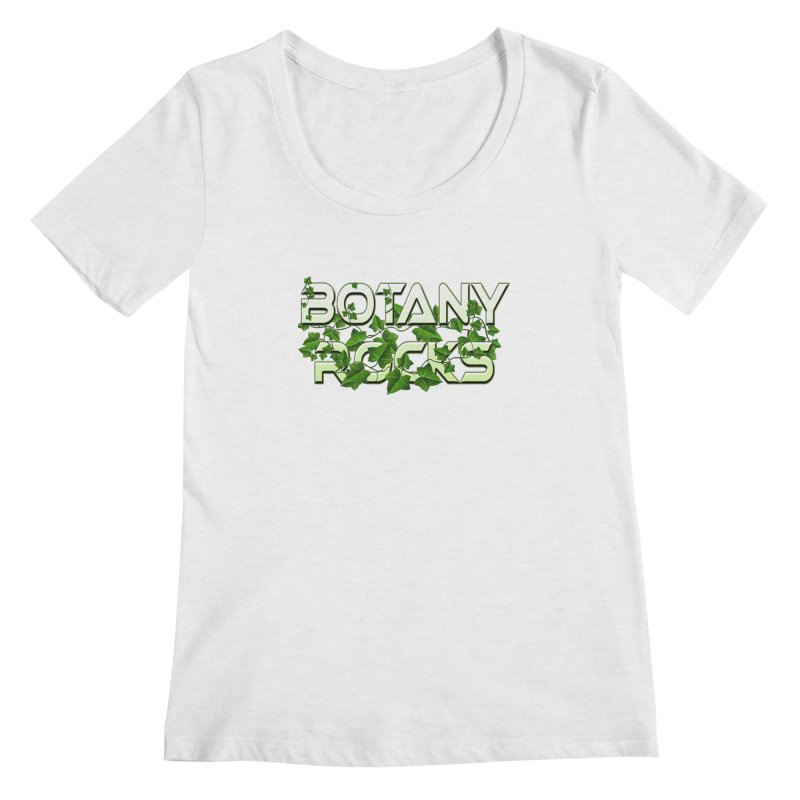 Botany Rocks Women's Regular Scoop Neck by Leading Artist Shop