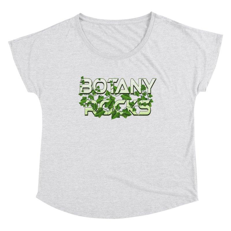Botany Rocks Women's Dolman Scoop Neck by Leading Artist Shop