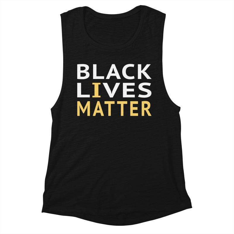 Black Lives Matter - I Matter Women's Tank by Leading Artist Shop
