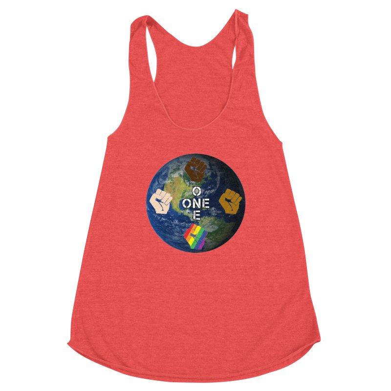 BLM One Earth Women's Tank by Leading Artist Shop