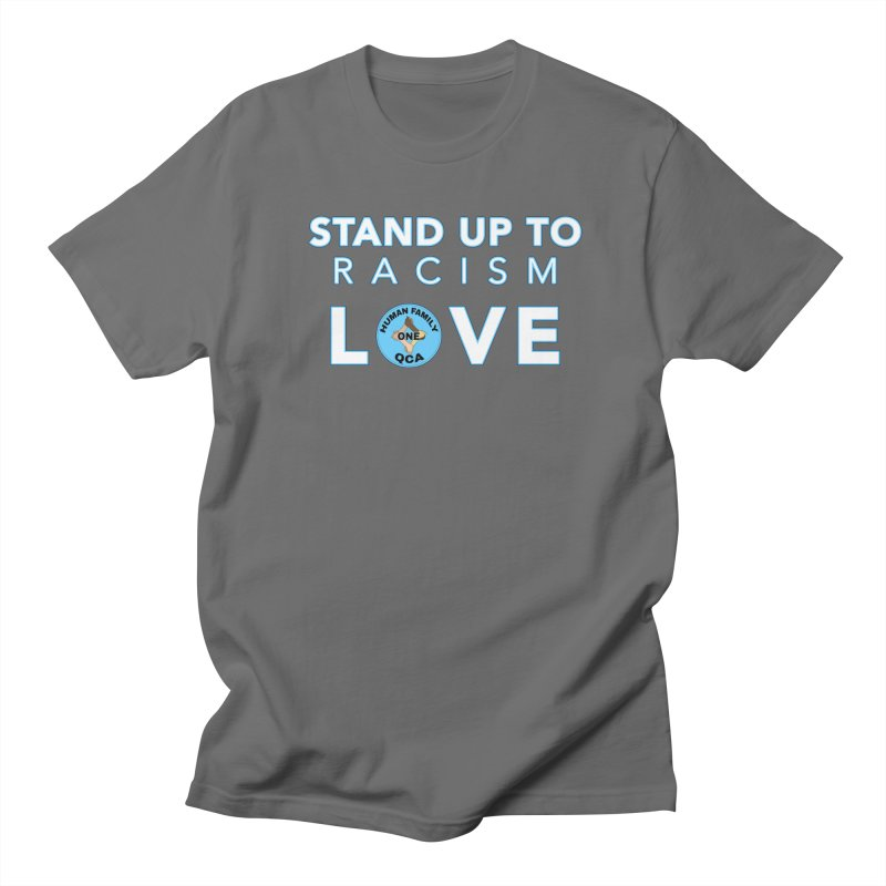 Stand Up To Racism With Love Men's T-Shirt by Leading Online Shopping