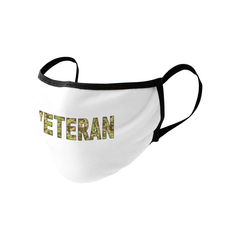 Veteran Face Mask Accessories Face Mask by Leading Artist Shop