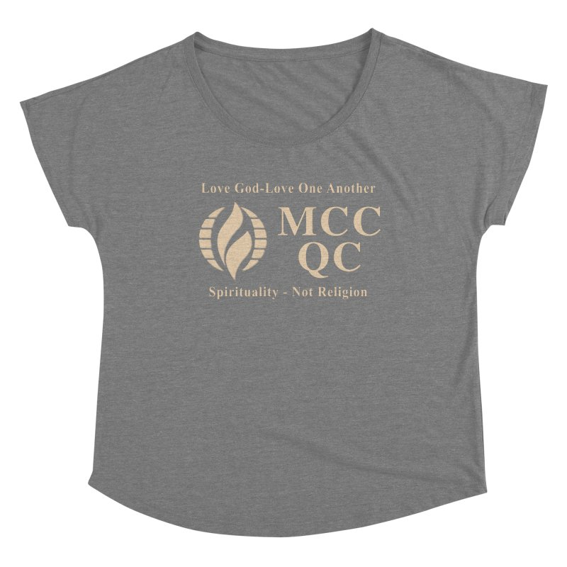 MCC Love God Love One Another Women's Scoop Neck by Leading Artist Shop
