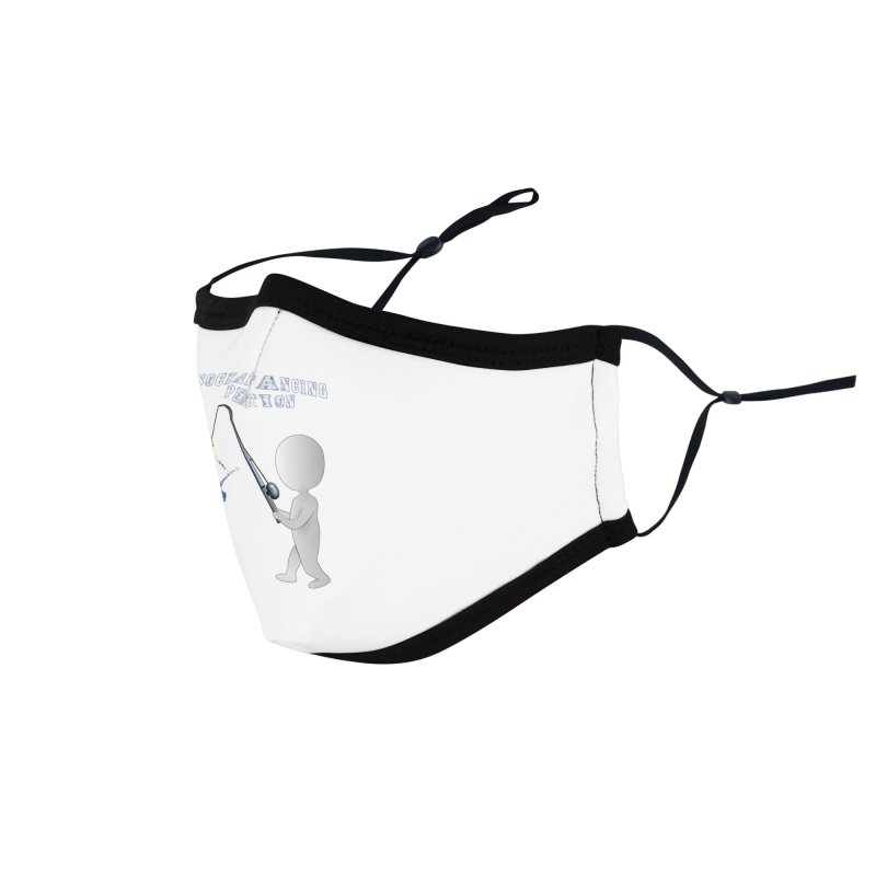 Fishing and Social Distancing Perfection Accessories Face Mask by Leading Artist Shop