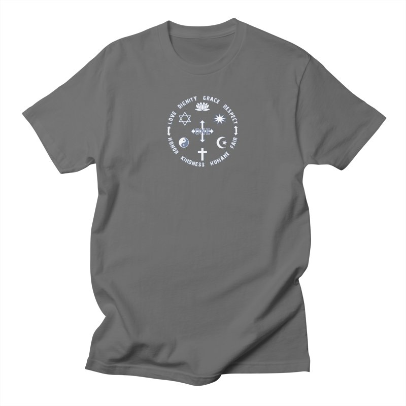Stop The Hate Awareness All Religions Are One Mens Shirt Styles T-Shirt by Leading Online Shopping