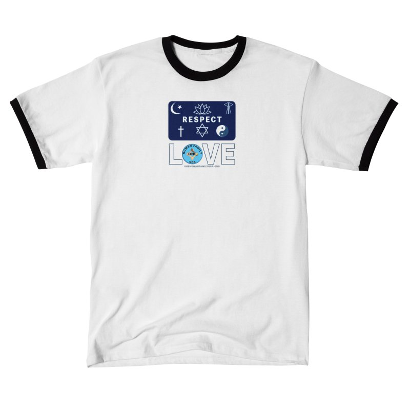 One Human Family QCA Respect Women's Shirt Styles T-Shirt by Leading Online Shopping