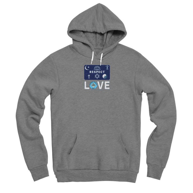 One Human Family QCA Respect Mens Shirt Styles Pullover Hoody by Leading Online Shopping