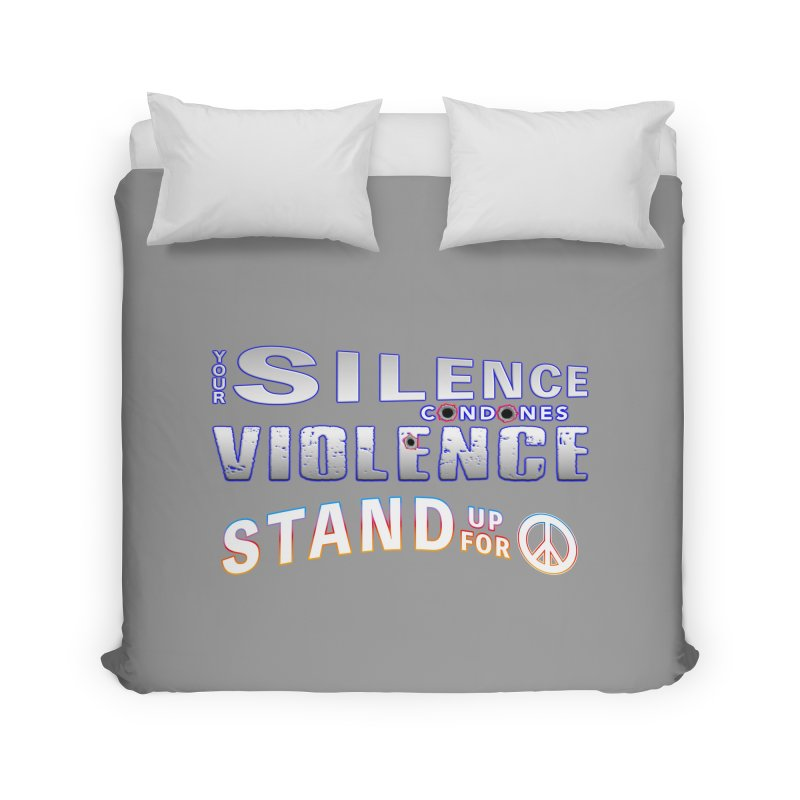 Stand Up For Peace Wall Art, Duvets, Blankets & More Duvet by Leading Online Shopping