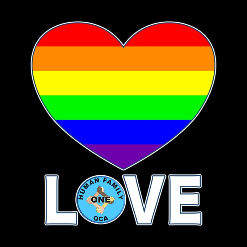 LGBT Pride Rainbow Heart ALL GENDER T-Shirt by Leading Online Shopping