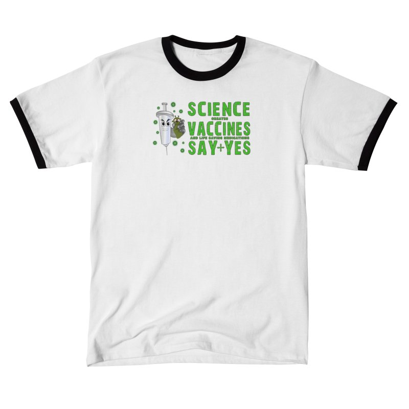 COVID Vaccine Say Yes Women's Shirt Styles T-Shirt by Leading Online Shopping