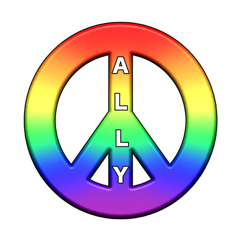 LGBTQ Ally Shirts n More ALL GENDER T-Shirt by Leading Online Shopping