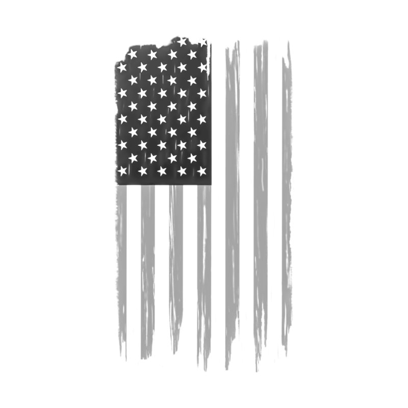 US Flag Shirt Black and White Phone Cases, Tote Bags, Stickers, & More Mug by Leading Online Shopping