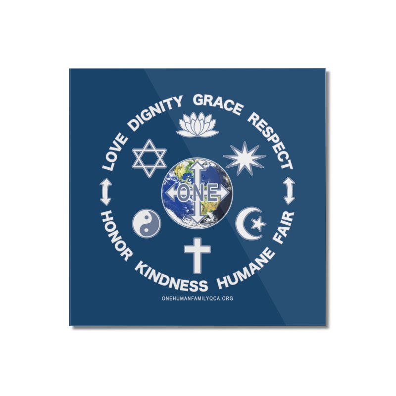 Religious Tolerance Definition Wall Art, Duvets, Blankets & More Mounted Acrylic Print by Leading Online Shopping