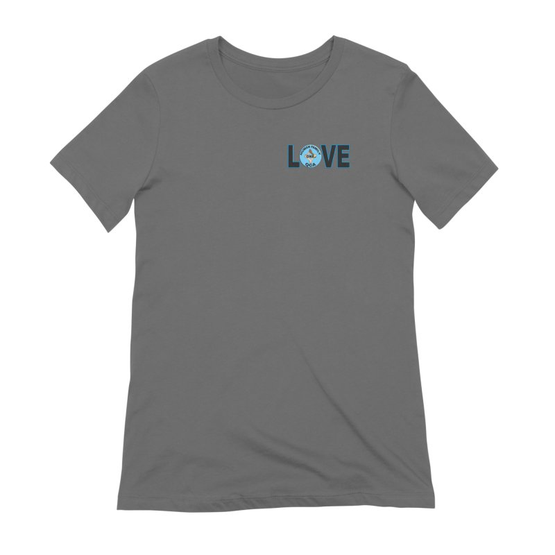 Love One Human Family Women's T-Shirt by Leading Artist Shop