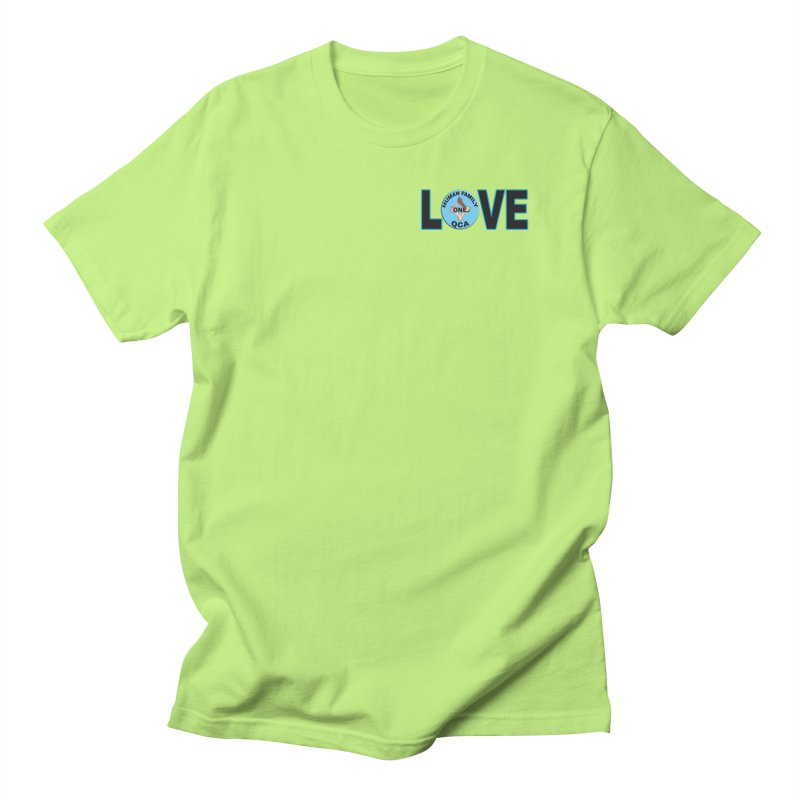 Love One Human Family Men's T-Shirt by Leading Artist Shop