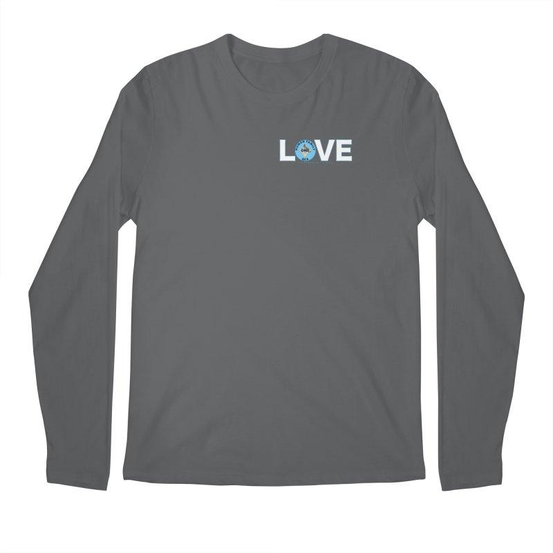 Love One Human Family Men's Longsleeve T-Shirt by Leading Artist Shop