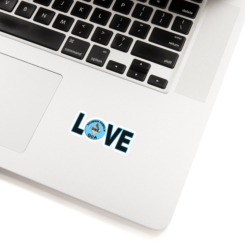 Love One Human Family Accessories Sticker by Leading Artist Shop