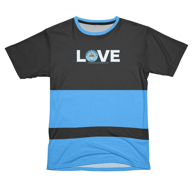 Stand Up To Racism - Love Men's French Terry T-Shirt Cut & Sew by Leading Artist Shop