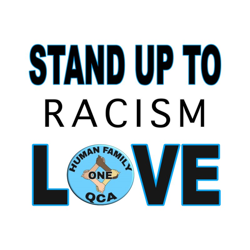 Stand Up To Racism - Love Kids T-Shirt by Leading Artist Shop