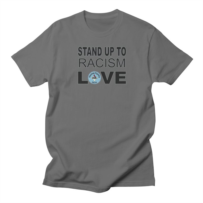 Stand Up To Racism - Love Men's T-Shirt by Leading Artist Shop