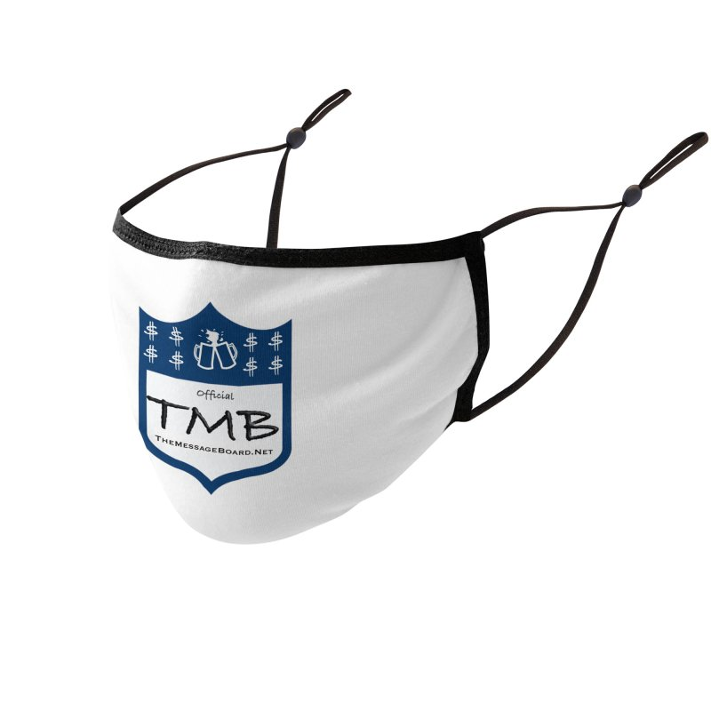 TMB Logo Accessories Face Mask by leaguegear's Artist Shop