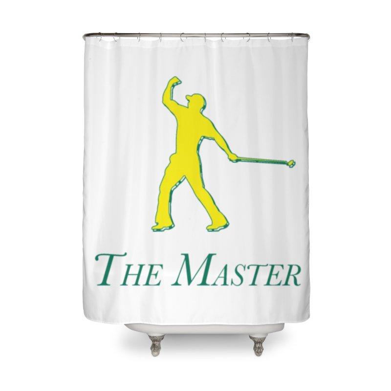 The Master Home Shower Curtain by leaguegear's Artist Shop