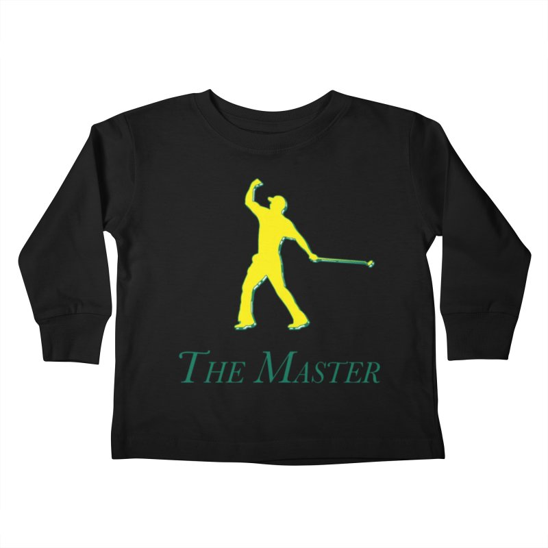 The Master Kids Toddler Longsleeve T-Shirt by leaguegear's Artist Shop