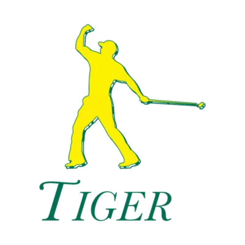 Tiger...Masters Edition Kids Pullover Hoody by leaguegear's Artist Shop